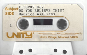 Cassette Do You Believe?