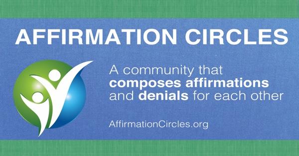 Affirmation Circles Banner