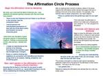 Affirmation Circles Handout