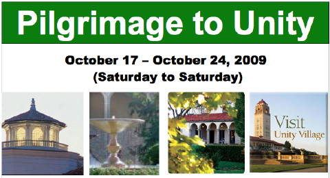2009 Pilgrimage to Unity from Unity Church of the Hills
