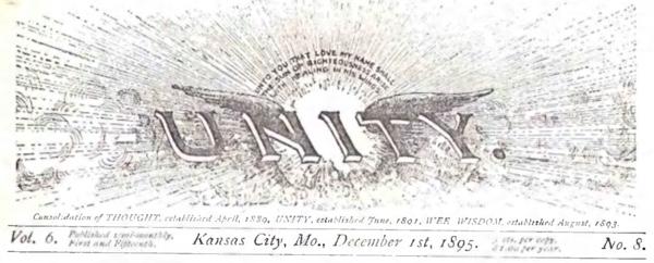 Header for 1895 December 01 Unity Magazine