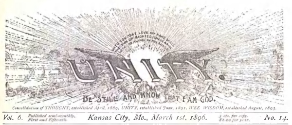 Header for 1896 March 01 Unity Magazine