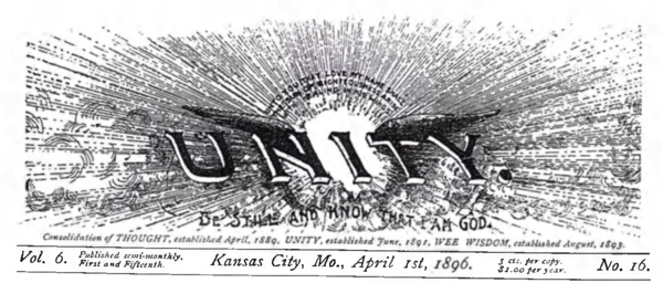 Header for 1896 April 01 Unity Magazine