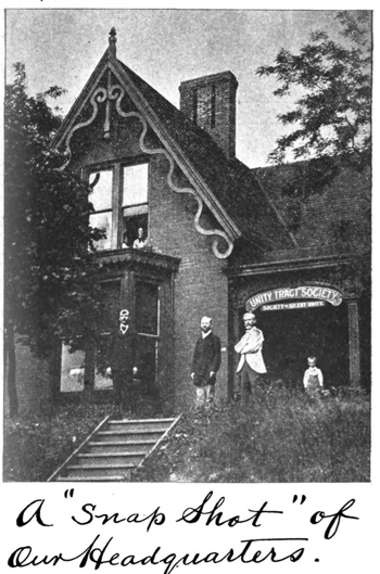 A snapshot of our headquarters in 1900 July Unity Magazine