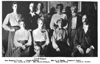 Staff photograph of Unity in 1902 August Unity Magazine