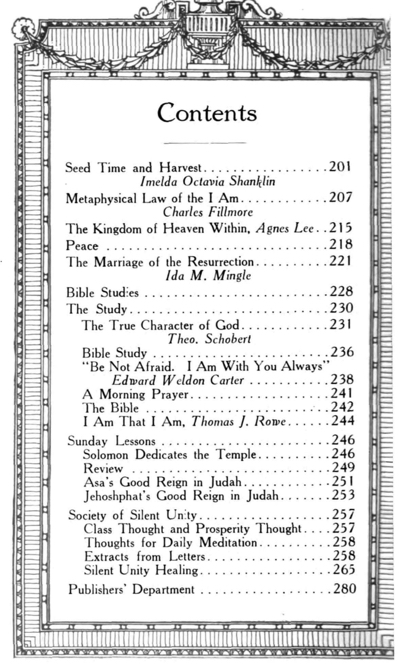 1918 September issue of Unity Magazine