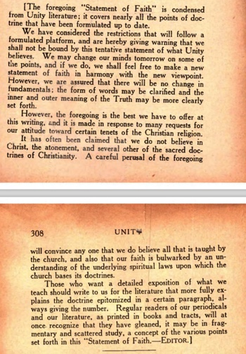 Unity Magazine September 1921 We may change our mind