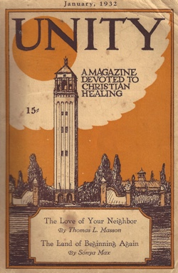 Unity Magazine January 1932 Cover