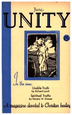 Unity Magazine June 1933 Cover