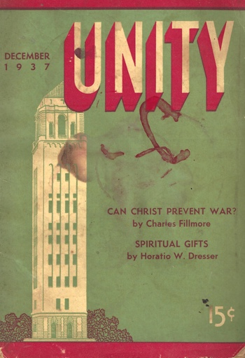 Unity Magazine December 1937 Cover
