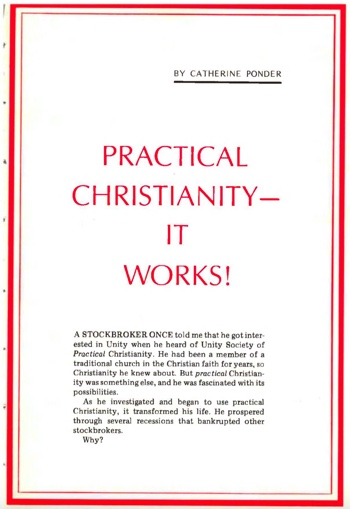 February 1975 issue of Unity Magazine—Practical Christianity It Works! page
