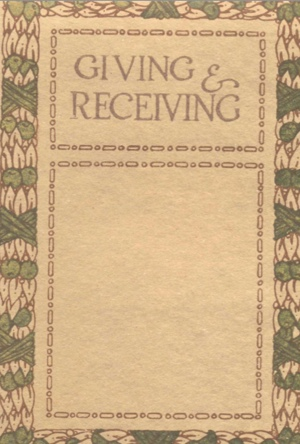 Giving and Receiving Cover