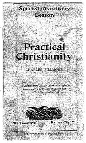 Charles Fillmore Practical Christianity