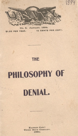 THE PHILOSOPHY OF DENIAL Cover
