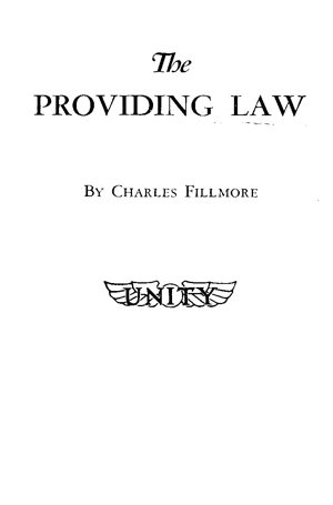 The Providing Law Cover