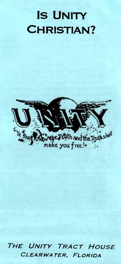 Is Unity Chirstian? by Dieter Randolf
