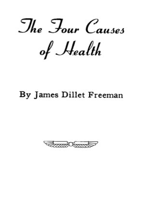 THE FOUR CAUSES OF HEALTH Cover