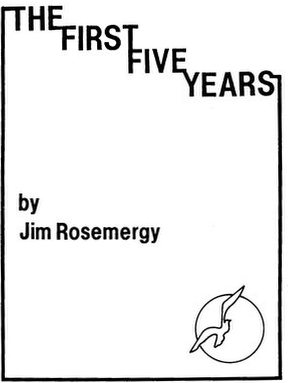 Jim Rosemergy: The First Five Years Cover