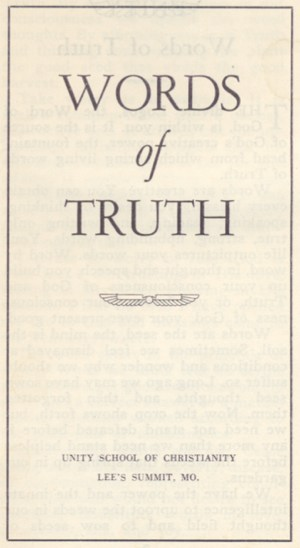 WORDS OF TRUTH Cover