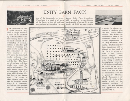 Unity Farm Facts With Map