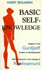 Harry Benjamin Basic Self Knowledge book cover