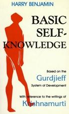 Harry Benjamin Basic Self Knowledge book cover
