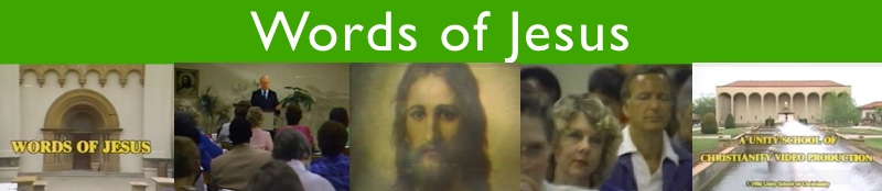 Words of Jesus Banner