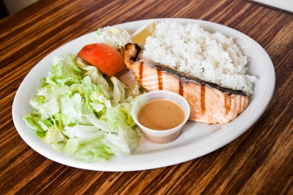 Salmon Shioyaki Lunch Set