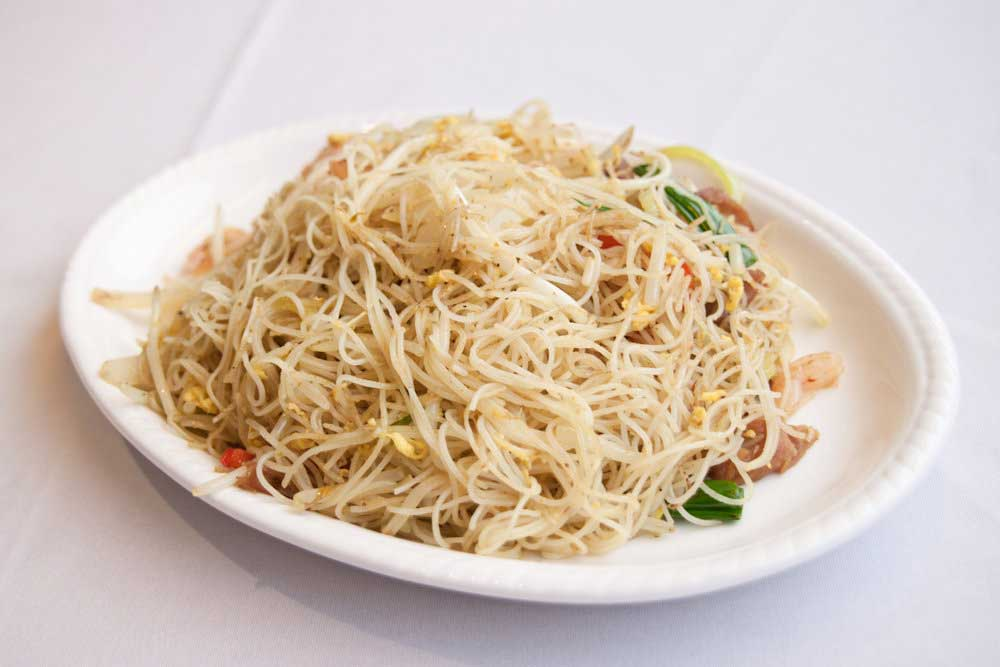 how to make singapore vermicelli noodles