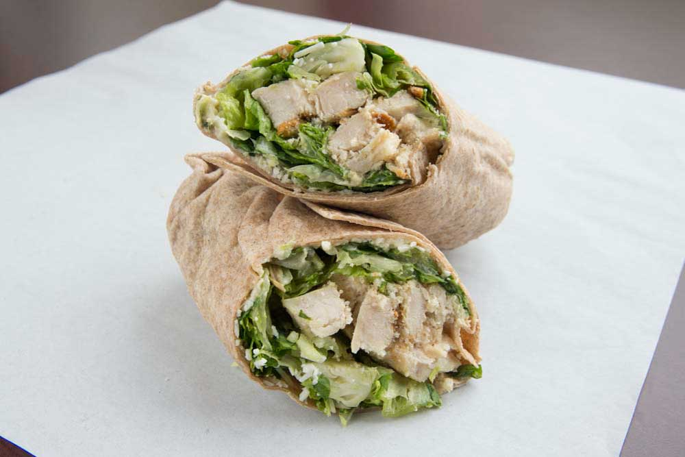Caviar | Seasoned Chicken Caesar Wrap