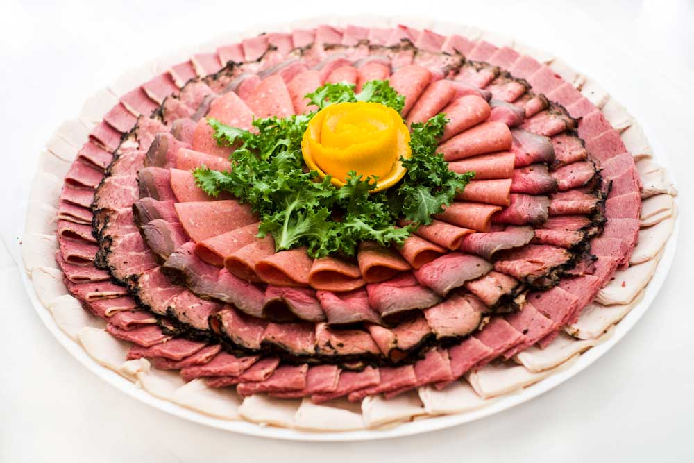 2nd ave deli catering assorted cold cut platter your choice of cold ...