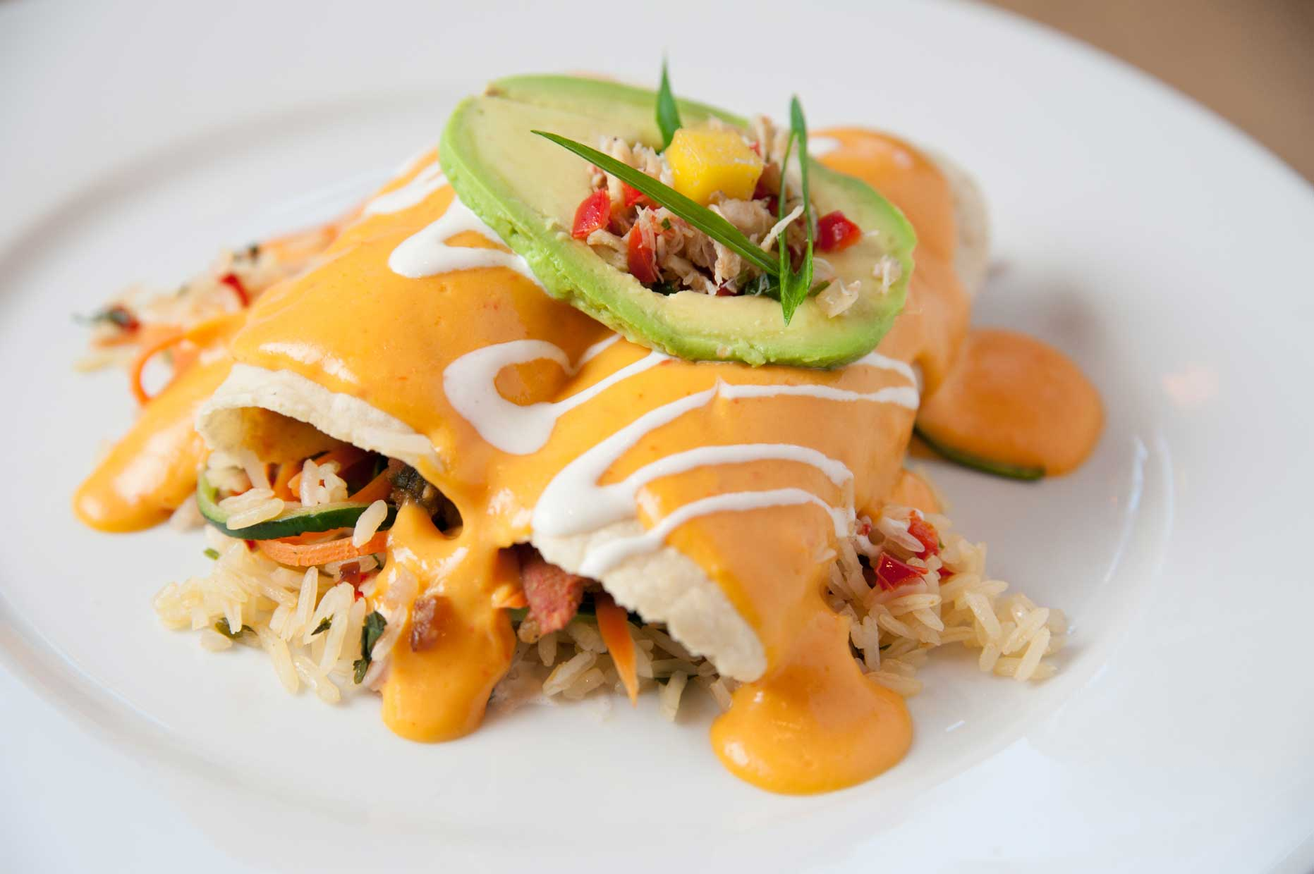Caviar | Lobster Enchiladas