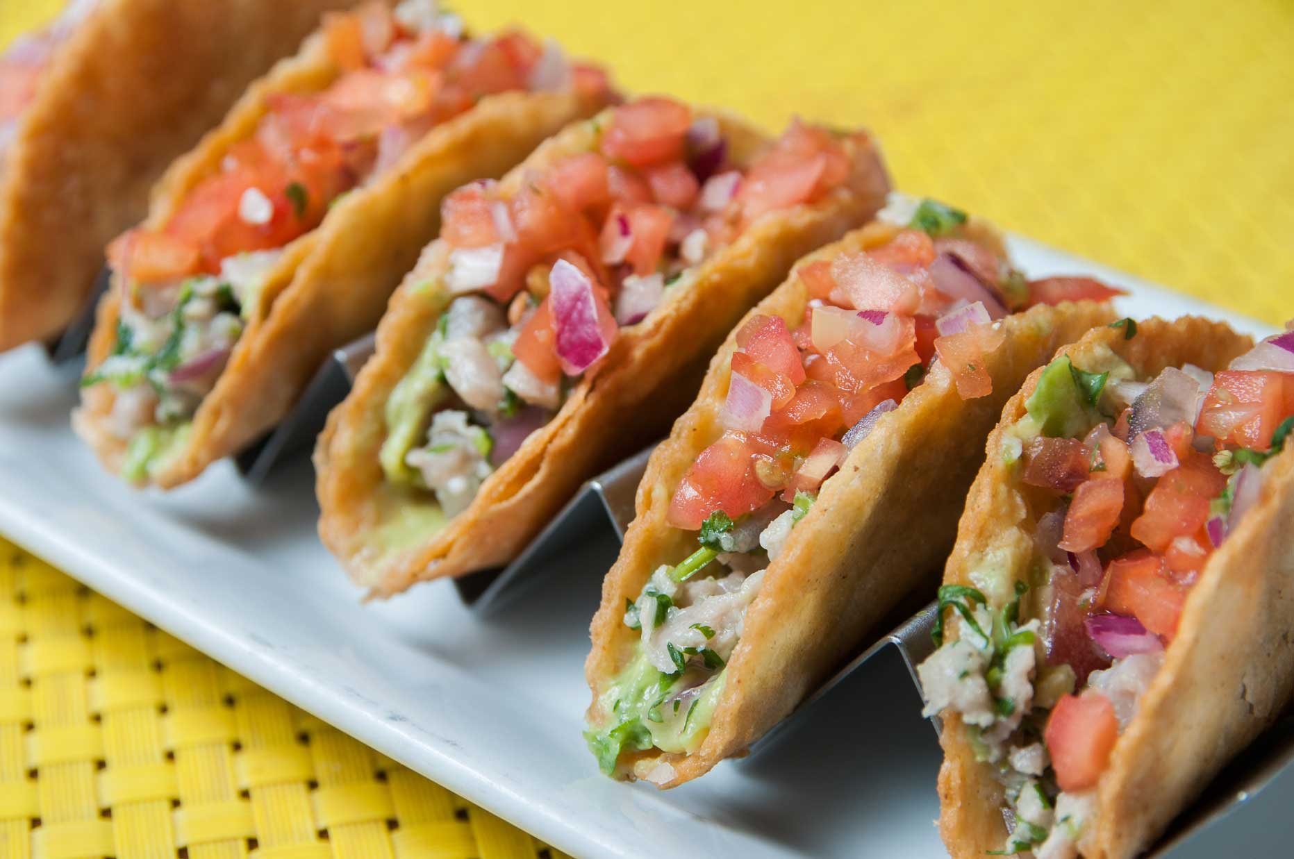Caviar | Tuna Ceviche Tacos