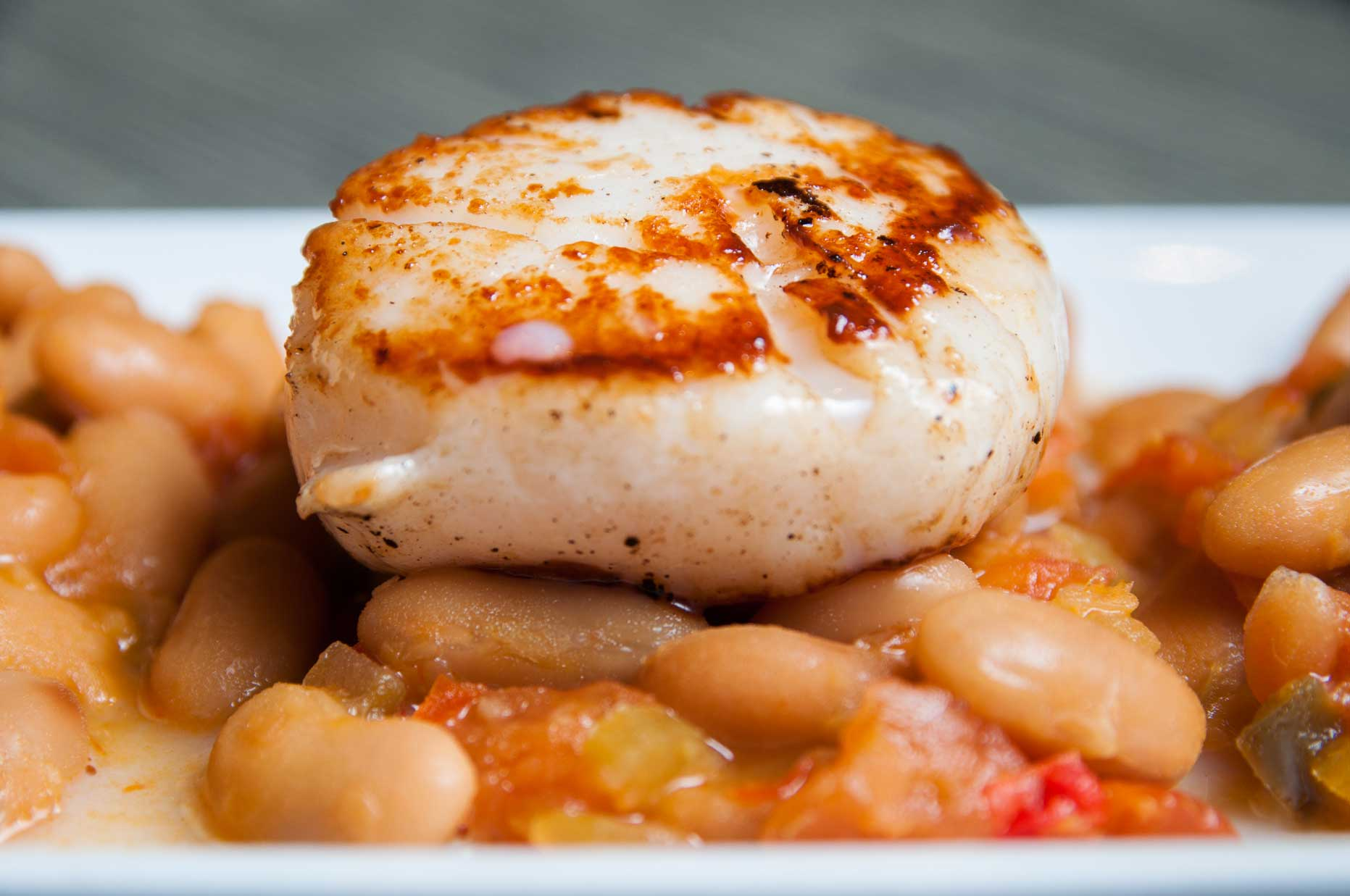 Seared Scallops With Succotash Recipes — Dishmaps