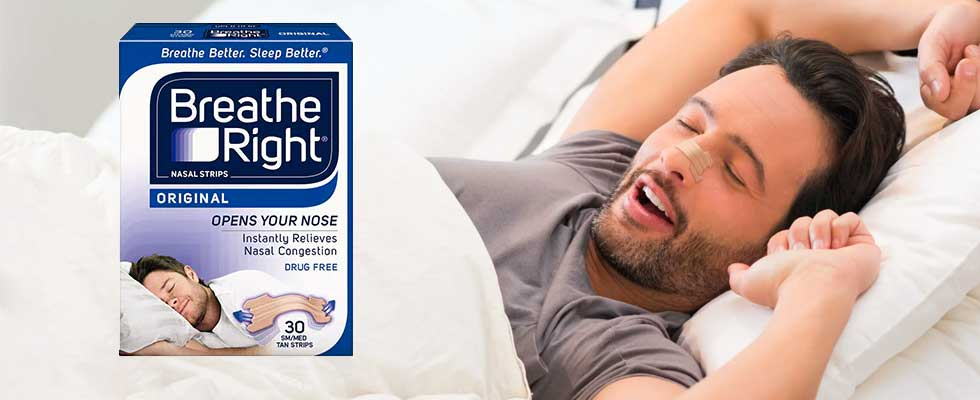 Get Better Sleep With Breathe Right Nasal Strips - TrySpree Breaks Down Free Sample