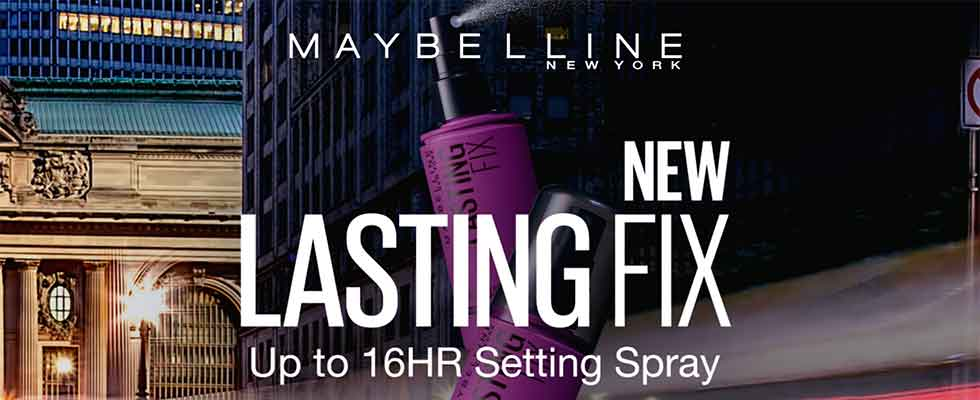 Keep Your Makeup Looking Great All Day - Free Sample of Maybelline Lasting Fix Setting Spray
