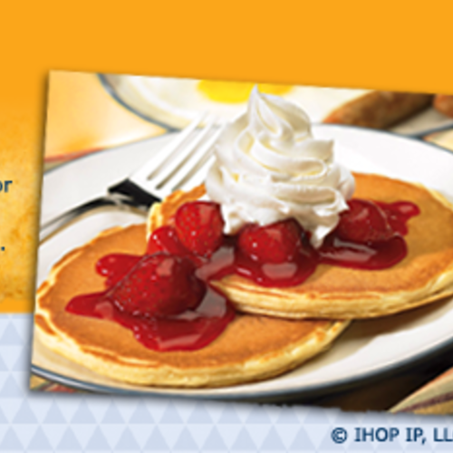 Free Meal At IHOP On Your Birthday