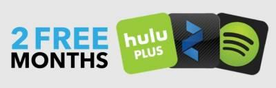 tryspree hulu plus zinio and spotify premium 2 free months. Black Bedroom Furniture Sets. Home Design Ideas