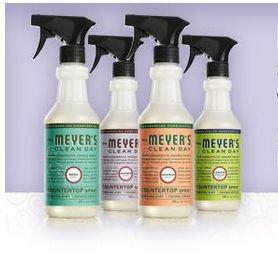 try free samples of mrs meyers cleaning products must be a mom ambassador