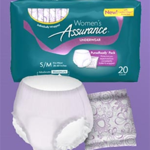 incontinence samples