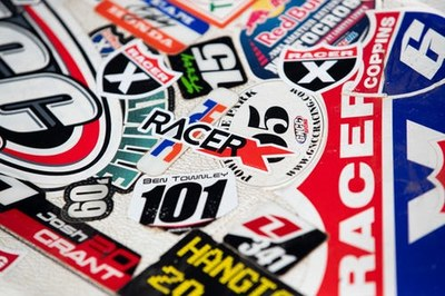 Racer X Stickers for Free