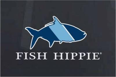 Fish Hippie Sticker