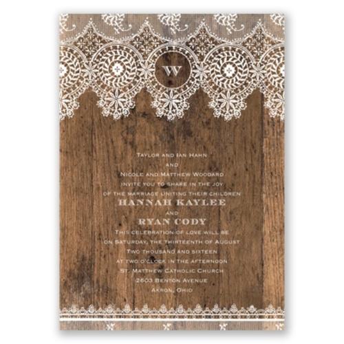 tryspree wedding invitation samples from david s bridal On david s bridal wedding invitations