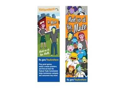 Free You Are Here Bookmark