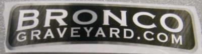 Free-bronco-graveyard-sticker