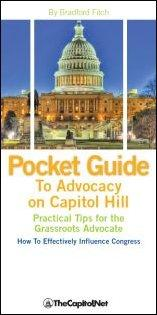 Free Pocket Guide to Advocacy on Capitol Hill