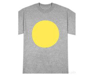 Free-yellow-circles-stickers-free-shirt