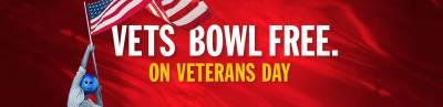 Free Hour of Bowling For Vets