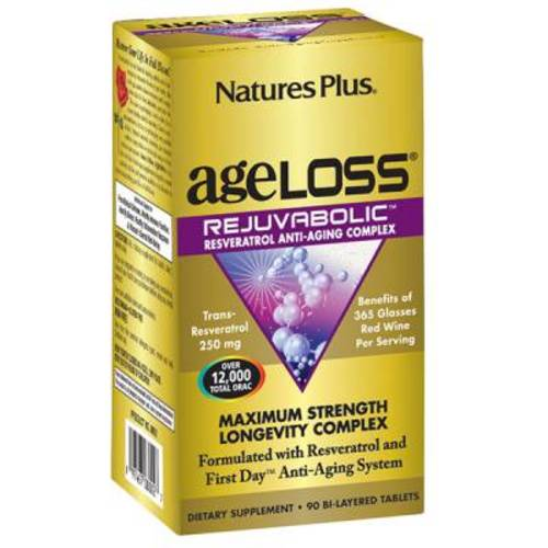 Free AgeLoss REJUVABOLIC Resveratrol Anti-Aging Complex