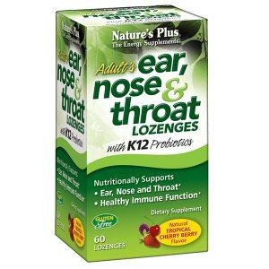Free Sample of Nature's Plus Adult Ear, Nose & Throat Lozenges